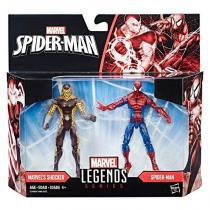 "C1406 marvel legends 3,75"""" spider man vs shocker - Hasbro"