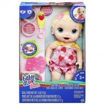 C2697 Baby Alive Lanchinhos Divertidos Loira - Hasbro