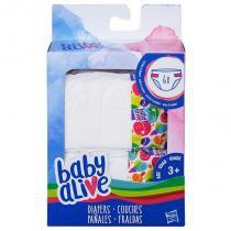 C2723 baby alive refil fralda novo - Hasbro