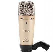 C3 - Microfone c/ Fio P/ Estúdio C 3 - Behringer - Behringer