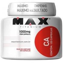 CA Óleo de Cártamo 120 Cápsulas - Max Titanium - Natural - Max Titanium