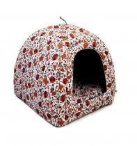 Cabana iglu toca caminha pet cachorro gato cama binnopet dogs bege - p - Binnopet