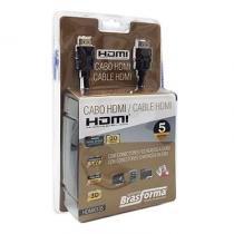 Cabo  1.4v 5 metros - HDMI0135 - Brasforma