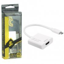 Cabo Adaptador USB Tipo C 3.1 para Porta HDMI 1.4 4K Ultra HD - 018-7491 - ChipSCE - Chip sce