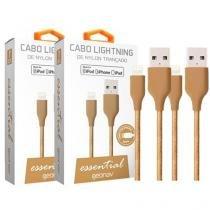 Cabo Carregador Lightning Geonav - Essential 2 Peças