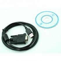 Cabo conversor USB AM X Serial DB 9 M de 1,50 Metros - Wincabos