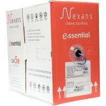 Cabo de Rede Cat5e Essential Azul Nexans -