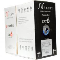 Cabo de Rede Cat6 Essential Azul Nexans -