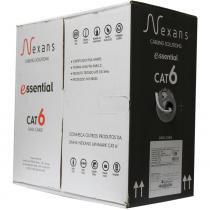 Cabo de Rede Cat6 Essential Cinza Nexans -
