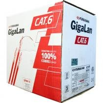 Cabo de Rede Cat6 Gigalan Cinza Furukawa -