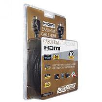 Cabo HDMI 1.4v 10 metros - HDMI01410 - Brasforma