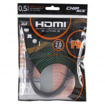 Cabo HDMI 2.0 19 Pinos 4K 3D - Chip sce