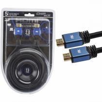 Cabo HDMI 2.0 - 4K Ultra HD - Blindado com Filtro - 5 metros - PIX