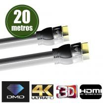 Cabo HDMI 4K UltraHD JX-1020 - 20M - Diamond cable