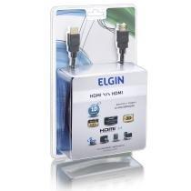 Cabo HDMI/HDMI 1.4 10 Metros 1080p com Suporte 3D - Elgin - Elgin
