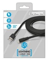 Cabo Lightning 3m Preto para Apple Ipad, Ipod ou Iphone - Trust - TRUST