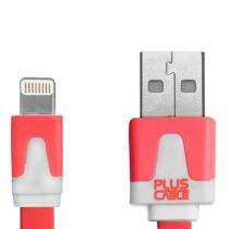 Cabo para Iphone Micro USB 1 Metro Rosa LT- LT1001 - Plus Cable - Plus Cable