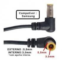 Cabo Reparo Reposição Fonte Carregador Samsung Plug 5.5mm X 3.0mm - Samsung