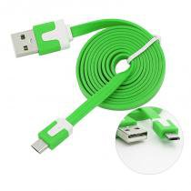 Cabo Usb Micro Usb Plug And Play Verde 0438 Bright -