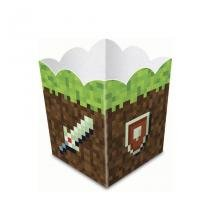 Cachepot Minecraft 08 unidades Junco - Festabox