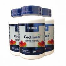 Cactlinea - Promoção 3 Unidades - Herbamix - Force do Brasil - Herbamix
