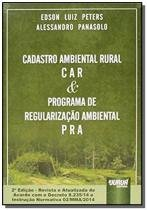 Cadastro ambiental car e programa de regularizacao - Jurua