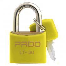 Cadeado Com Chaves Colors - LT 30mm - Amarelo - Pado -