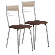 Cadeira Aço 2 Peças Móveis Carraro - Casual 026