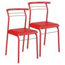 Cadeira Aço 2 Peças Móveis Carraro - Contemporânea 1708