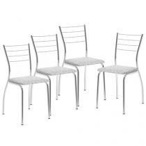 Cadeira Aço 4 Peças Móveis Carraro - Casual 1700
