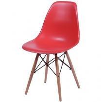 Cadeira Aço e Madeira Inovakasa - Eames Texas