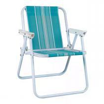 Cadeira Aço Pintado Alta Infantil Mor 2009 - Mor