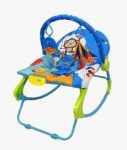 Cadeira Bebê Musical Vibratória Balanço 18 Kg Rocker Azul - Color baby
