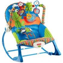 Cadeira Crescendo Comigo Sapinho - com Vibrações Calmantes - Fisher-Price