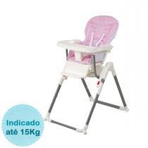 Cadeira de Alimentação Burigotto Cookie - Circles Rosa - Burigotto