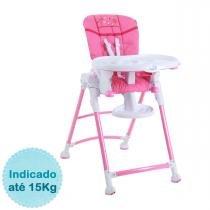 Cadeira de Alimentação Burigotto Mamalove - Pink - Burigotto