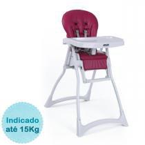 Cadeira de Alimentação Burigotto Merenda - Framboesa -