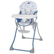 Cadeira de Alimentação Chicco Pocket Meal - Blue Bras Reclinável para Crianças até 18kg