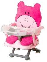 Cadeira de Alimentação Hipopotamo Rosa - Dican -