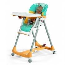 Cadeira de Alimentação Peg Pérego Prima Pappa Dinner - Hippo Giallo - Peg Pérego