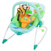 Cadeira de Balanço Bright Starts 3 em 1 - Amigos da Floresta -