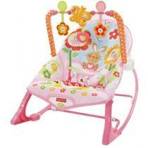 Cadeira de Balanço Crescendo Comigo Baby Gear - Fisher-Price