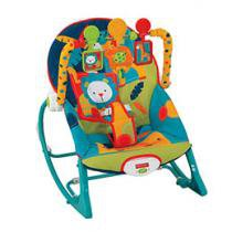 Cadeira de Balanço Crescendo Comigo Minha Infância Musical com Vibrações Calmantes - Fisher-Price
