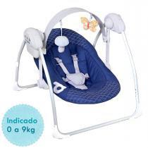 Cadeira de Balanço Eletrônica Dzieco - Azul -