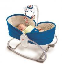 Cadeira de Balanço Rocker Napper 3 em 1 azul Tiny Love -