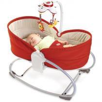 Cadeira de Balanço Rocker Napper 3 em 1 Vermelho Tiny Love -