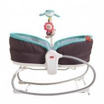 Cadeira de Balanço Tiny Love Berço Portátil 3 em 1 Rocker Napper - Turquesa - Tiny Love