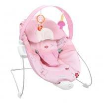 Cadeira de Descanso Rocker Rosa (até 6 meses e peso até 9Kg) - Burigotto