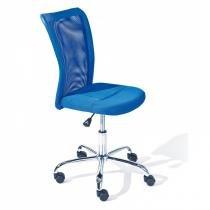Cadeira de Escritório Giratória Bonnie Inter Link Azul -