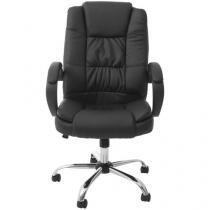 Cadeira de Escritório Giratória Presidente Nell - Preta PRE-002